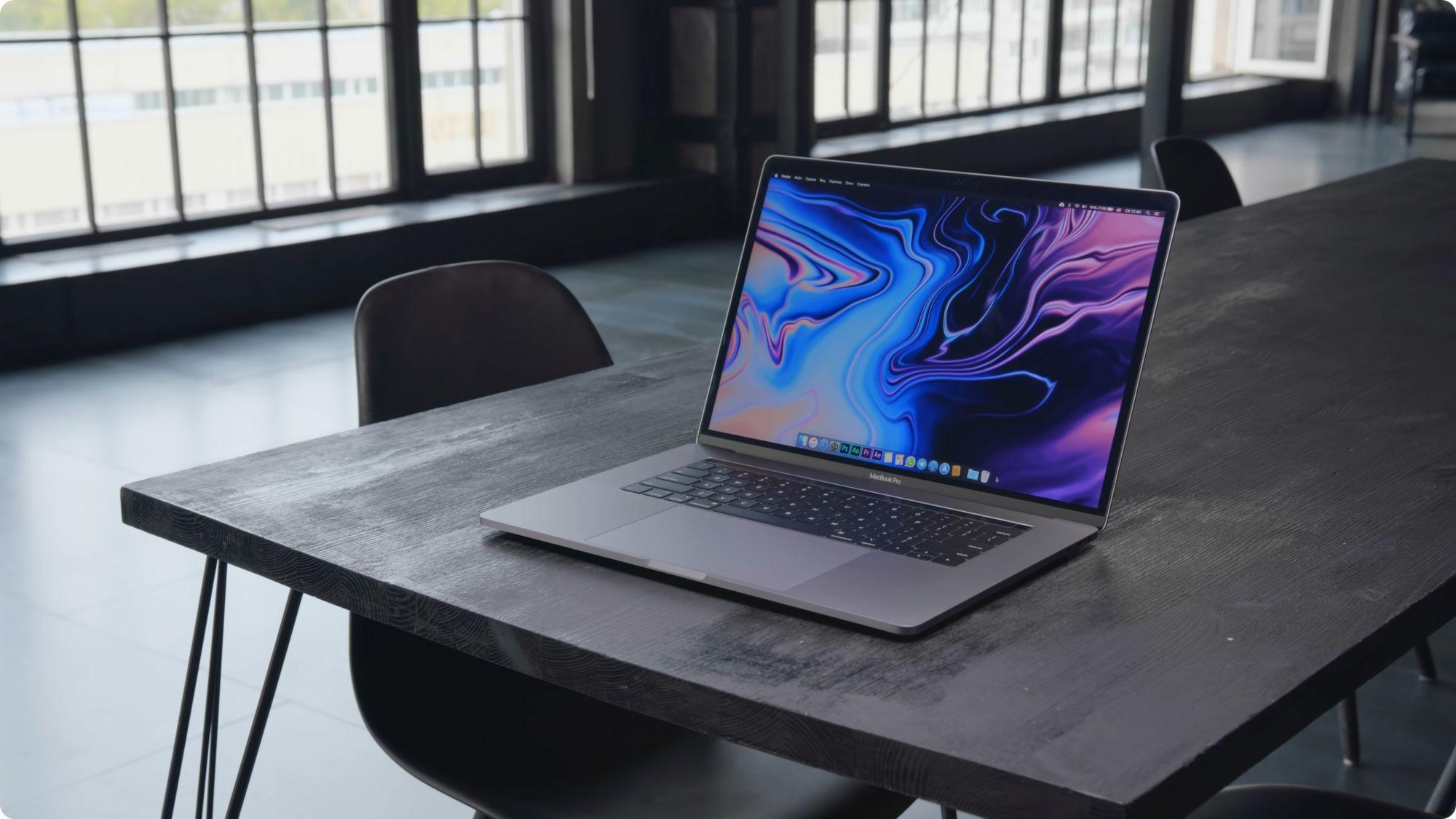 Обзор MacBook Pro 2019