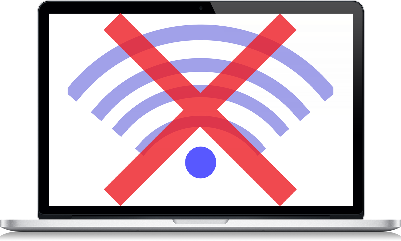 MacBook не подключается к Wi-Fi